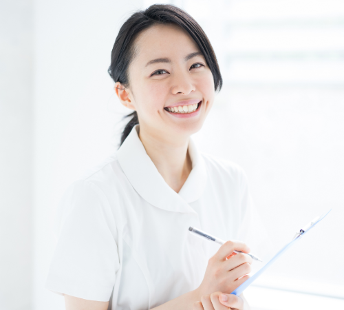採用サイト看護師画像
